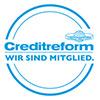 Wir sind Mitglied: creditreform