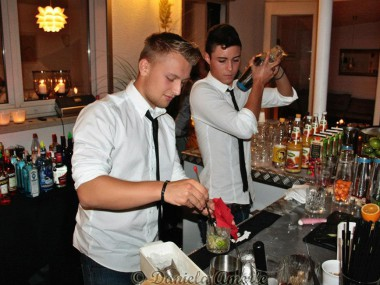 Privatveranstaltung, mobile Cocktailbar