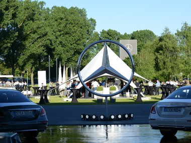 Mercedes Benz Abschlussfeier E-Klasse